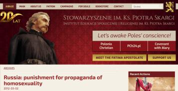 Screen Shot Website Piotr Skargi